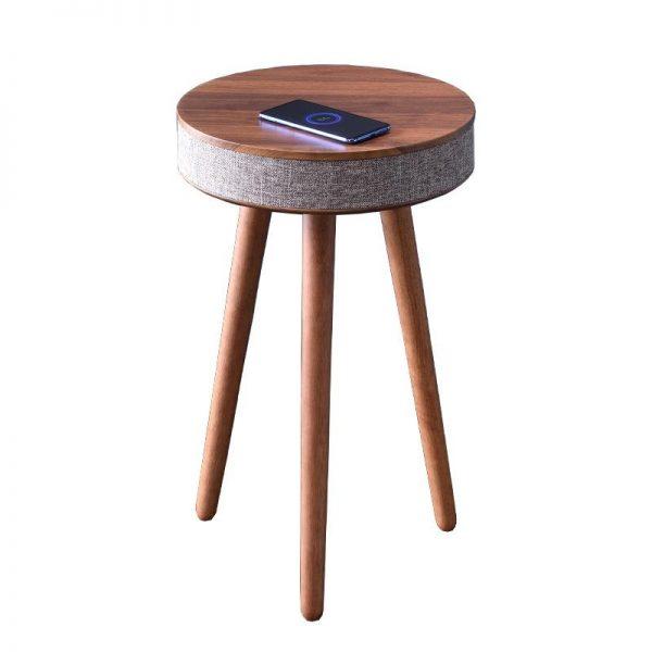 Sierra Round Bluetooth Speaker Table